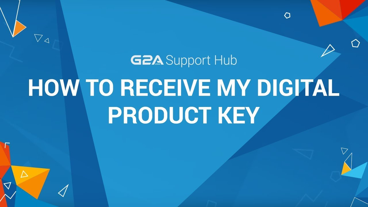 How Can I Receive my Digital Product Key from G2A Marketplace?   G2A  Support Hub