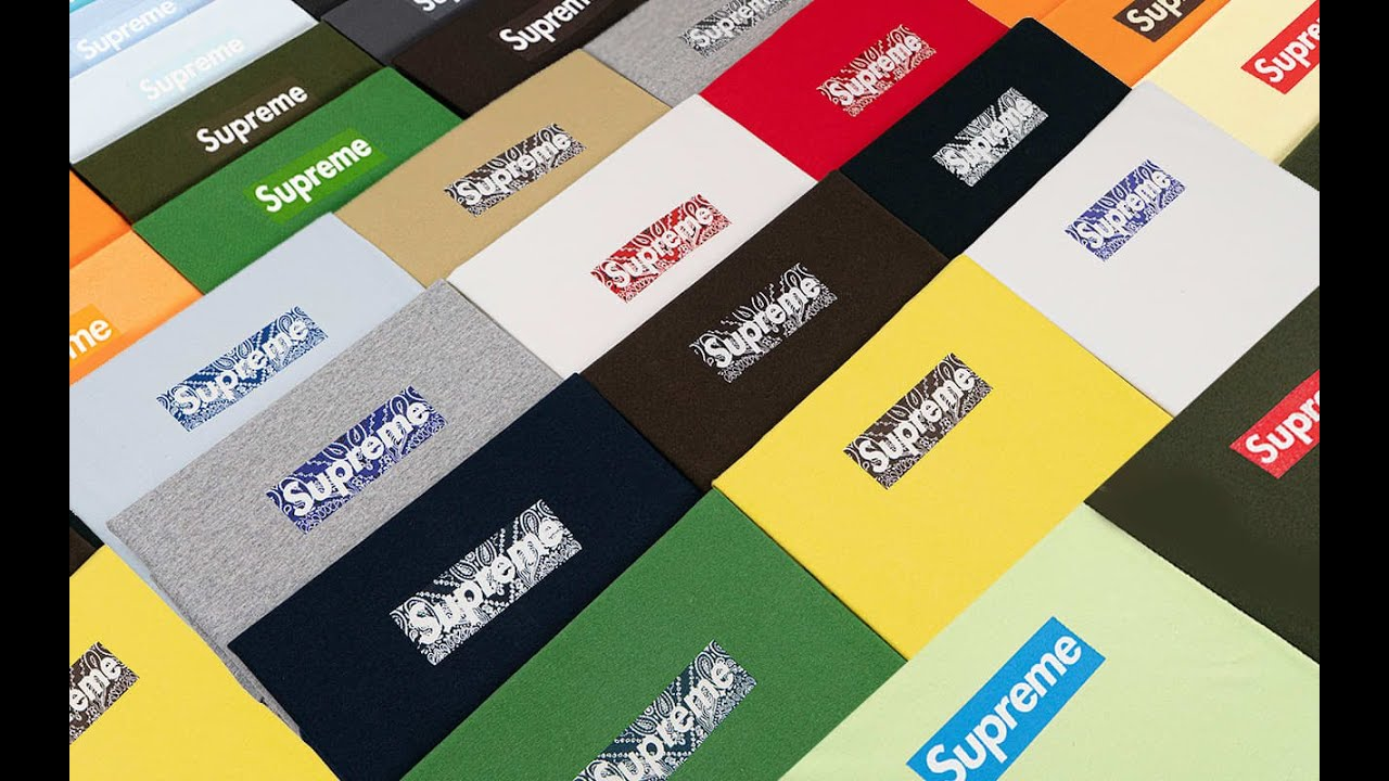 21-year-old's Supreme T-shirt collection set to sell for $2 million ...