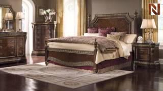Pulaski Del Corto California King Poster Complete Bed 5031+60+61+67