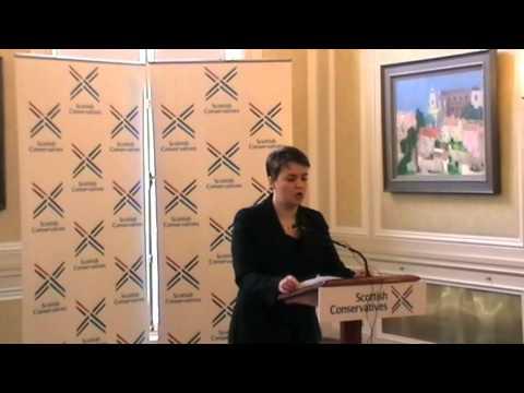 Ruth Davidson - Speech on strengthening Scottish Devolution