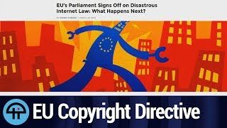 What's Next With the EU's Copyright Directive?