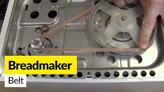 How to Replace the Belt on a Breadmaker