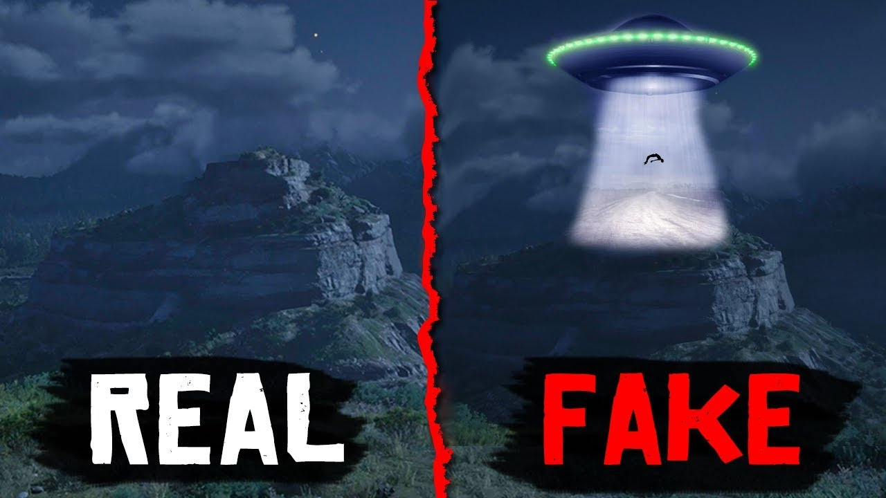 Red Dead Online BATTLE ROYALE & FAKE UFO's in Red Dead Redemption 2