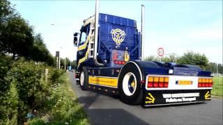 Scania 143 V8 sound compilation