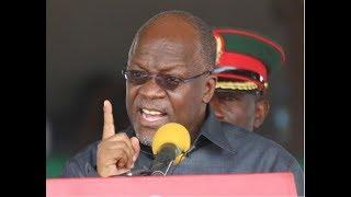 LIVE: Rais Magufuli ktk uwekaji jiwe la msingi la chuo cha Uongozi cha Mwl Julius Nyerere