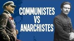 Communistes VS Anarchistes - La révolution Russe