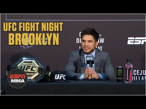 Henry Cejudo Post-Fight Press Conference | UFC Fight Night: Brooklyn | ESPN MMA