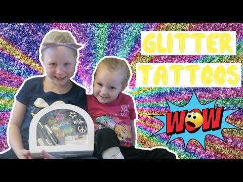 Amazing Diy Glitter Tattoo Kit For Kids Idy Ruby