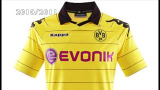 Dortmund Jersey 1969-2017