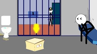 Stickman Jailbreak 1 & 6 Escape the Prison Android Gameplay