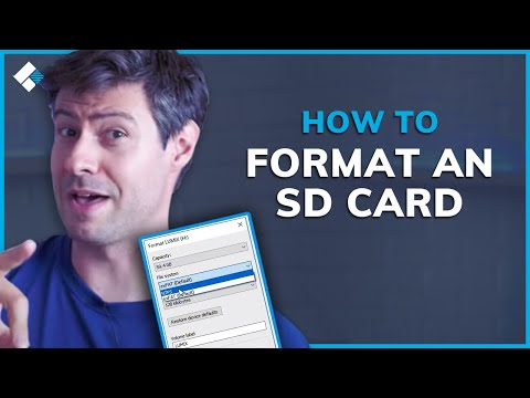 How To Format An SD Card On Mac And Windows?