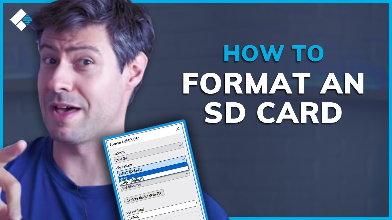 How to Format an SD Card on Mac and Windows? - YouTube