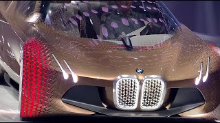 Ultra-futuristic self-driving 'Vision Next 100' BMW unveiled during centenary celebrations