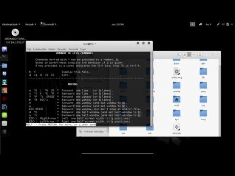 Kali linux - Alap terminál parancsok | 1. rész