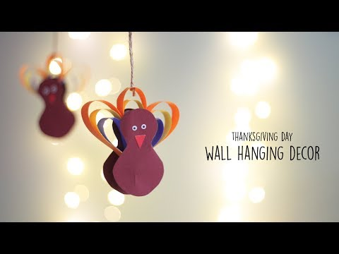 DIY Thanksgiving Day Wall Hanging | Holiday DIY | Do It Yourself