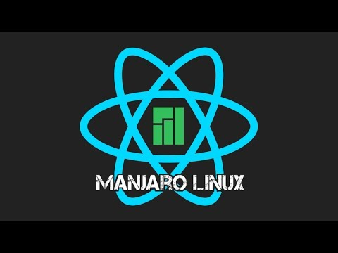Mobile Apps with React-Native on Linux (Manjaro - Arch-Linux)