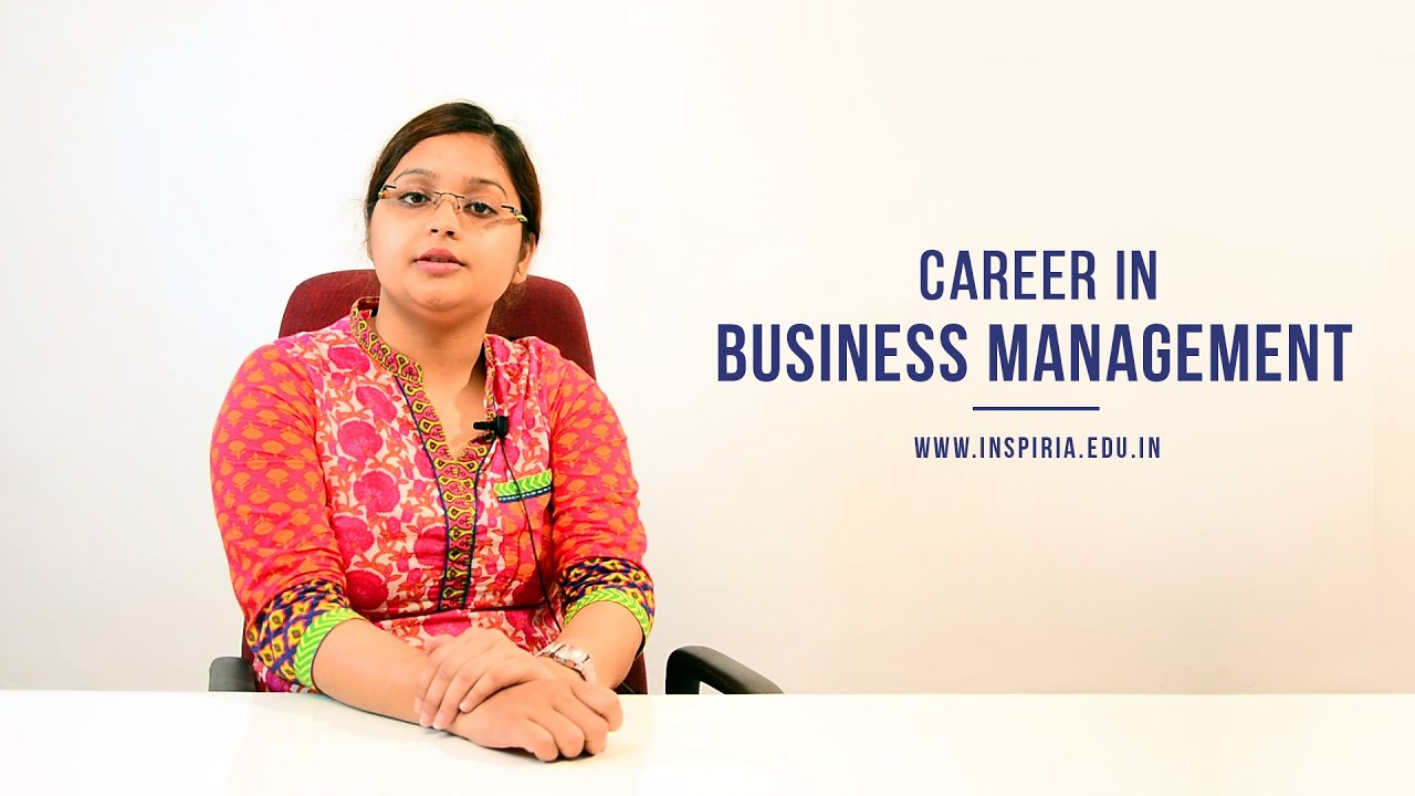 Career In Business Management Bba Career Guidance Business