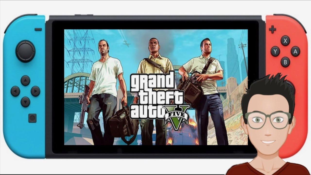 Gta V Para Nintendo Switch Youtube