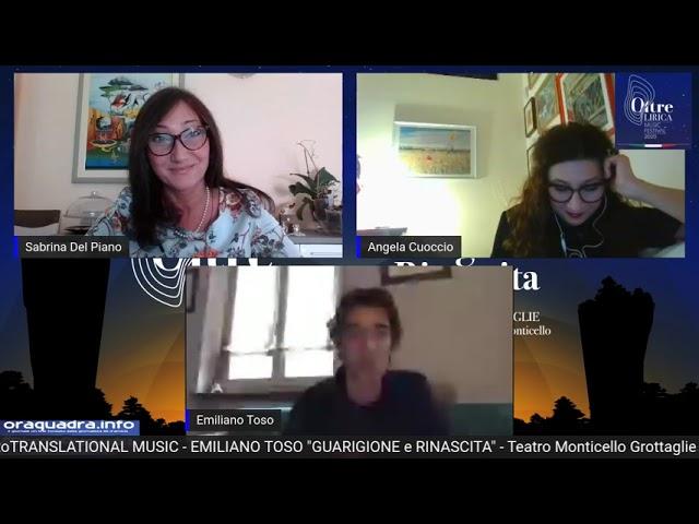 Intervista ad Emiliano Toso del 20 ottobre2020