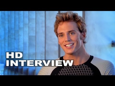 "The Hunger Games: Catching Fire: Sam Claflin ""Finnick Odair"" On Set Interview"