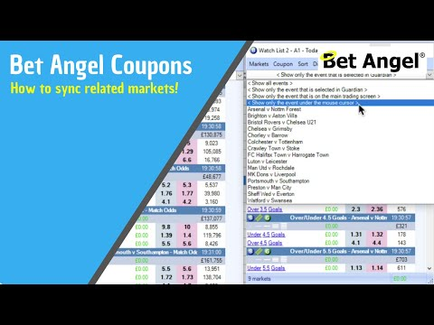 Clever Ways To Use A Bet Angel Coupon And Market Syncing