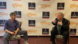 Marty's Corner with Jon Peterson, starring as the Emcee in Cabaret