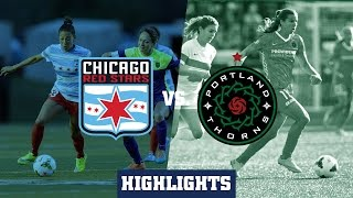 Chicago Red Stars vs Portland Thorns FC: Highlights - April 25, 2015