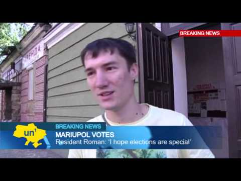 Mariupol Votes: Residents of Donetsk Oblast city able to vote in Ukrainian presidential election