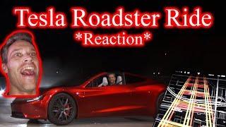 2020 Tesla Roadster. FIRST RIDE *REACTION*