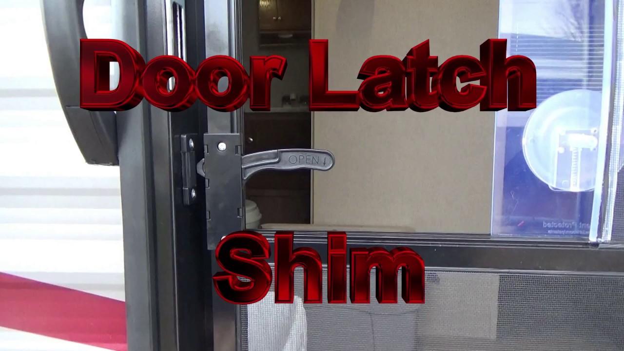 Door Latch Shim Youtube