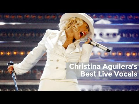 Christina Aguilera's Best Live Vocals