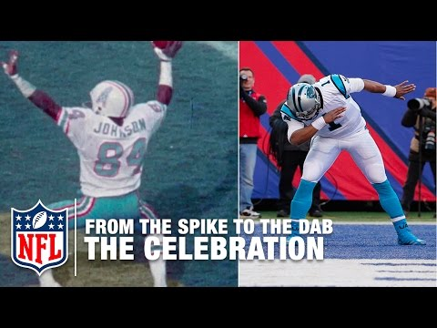 From The Spike To The Dab: The Evolution Of Touchdown Celebrations  NFL