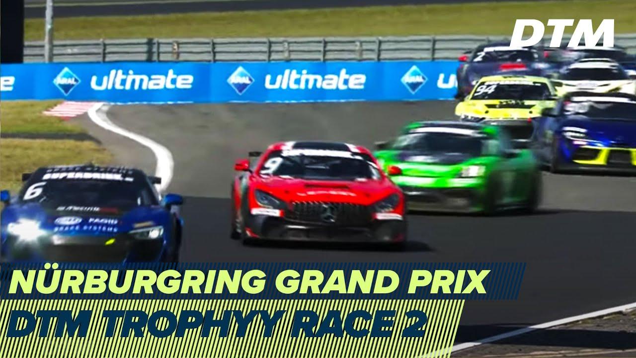 RE-LIVE   DTM Trophy Race 2 - Nürburgring Grand Prix 2020