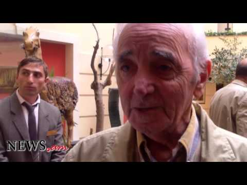 Charles Aznavour's interview to News.am