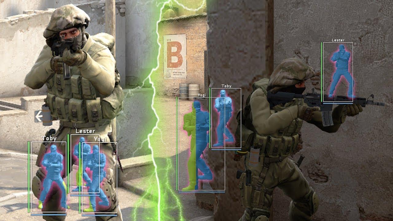 CS:GO - SEMI-RAGE Hacking // WENT FROM LEGIT HACKING TO SEMI-RAGE  HACKING    #Overwatch