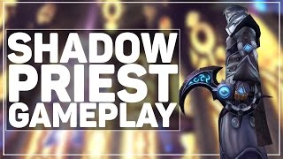 WoW Legion: NEW Shadow Priest Gameplay, Talents & Artifact