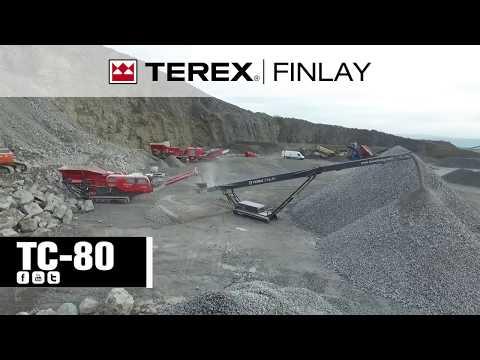 Автономный гусеничный конвейер Terex Finlay TC80