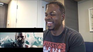 KRATOS vs. THOR | God Of War vs. God Of Thunder (Sneak Peek) - REACTION!!!