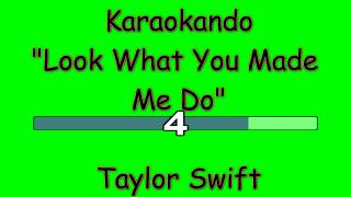 Karaoke Internazionale - Look What You Made  Me Do - Taylor Swift ( Lyrics )