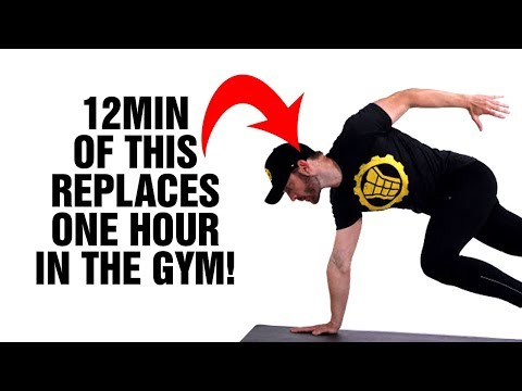 12min Tabata Fat Loss Workout Replaces 60min In Gym - 100% Bodyweight - HIIT - Burn Fat Fast!