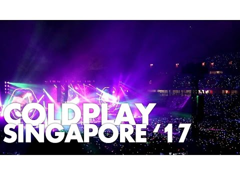 #VLOG Coldplay Singapore 2017 @ National Stadium