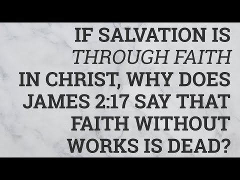 salvation through faith and reason Salvation is only by grace through faith it is only the blood of jesus and the finished work of cross that saves works don't save, the road to salvation is.