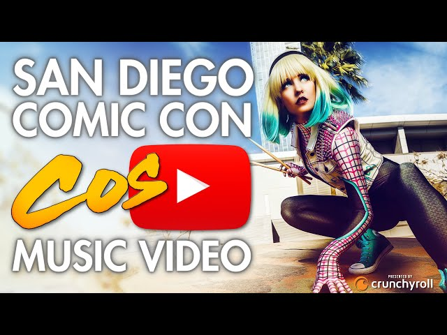 San Diego Comic Con (SDCC) - Cosplay Music Video 2017