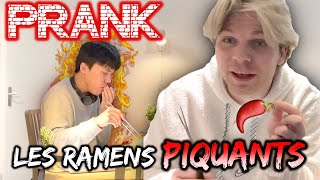 [🇰🇷&🇫🇷] RAMEN PRANK ON MY BOYFRIEND🌶