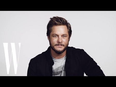 Australian Actor Travis Fimmel Does His Best Kangaroo Impression  W Magazine