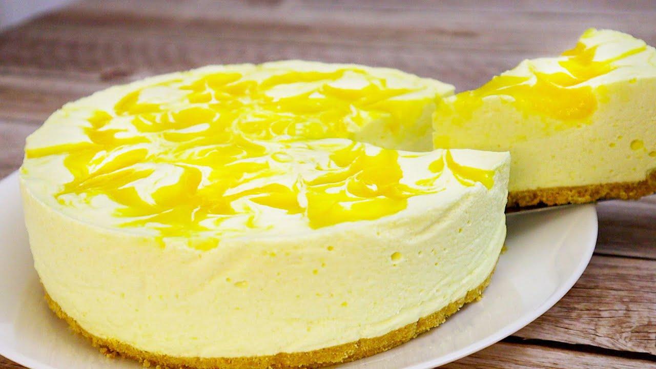 Торт Суфле с МАНГО 🥭 Без выпечки!