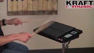 Kraft Music - Roland OCTAPAD SPD-30 Demo with Steve Fisher