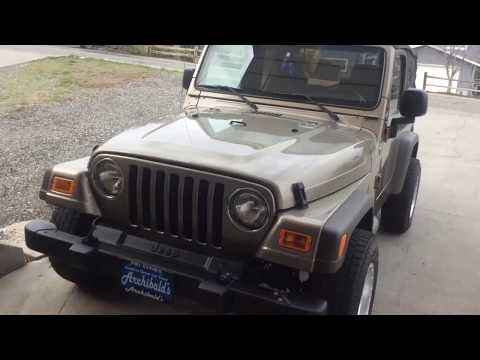 How to install a stereo in Jeep Wrangler tj 97-06 diy