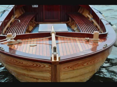 Wooden Boat Building Snekke bygging - YouTube