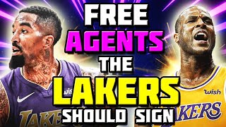 FREE AGENTS THE LAKERS SHOULD SIGN AFTER NOT TRADING IN NBA TRADE DEADLINE! DION WAITERS TO LAKERS?